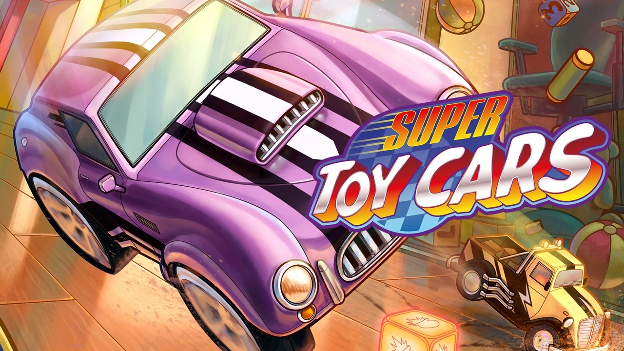 Super Toy Cars PS4 artwork