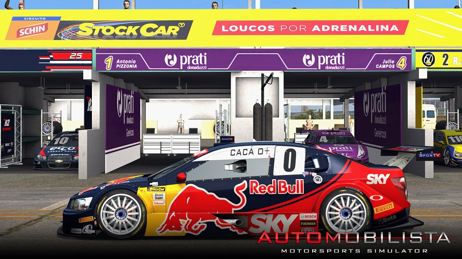 Automobilista Motorsports Simulator updated to version 0.9.0r