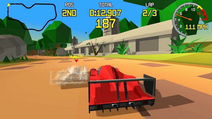 Virtua Racing-esque racer Racing Apex greenlit on Steam