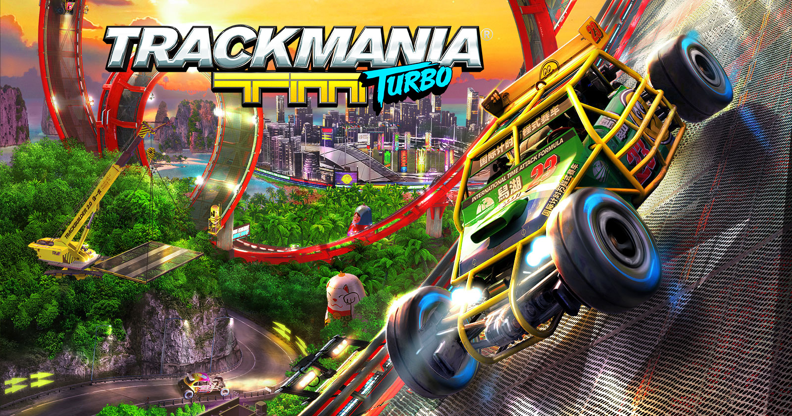 TrackMania Turbo header art