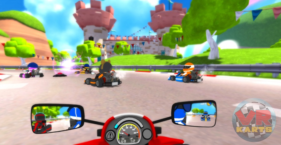 First person kart racer VR Karts skids onto the Oculus Rift