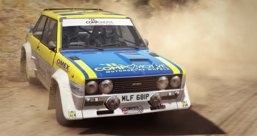 DiRT Rally 131 Abarth