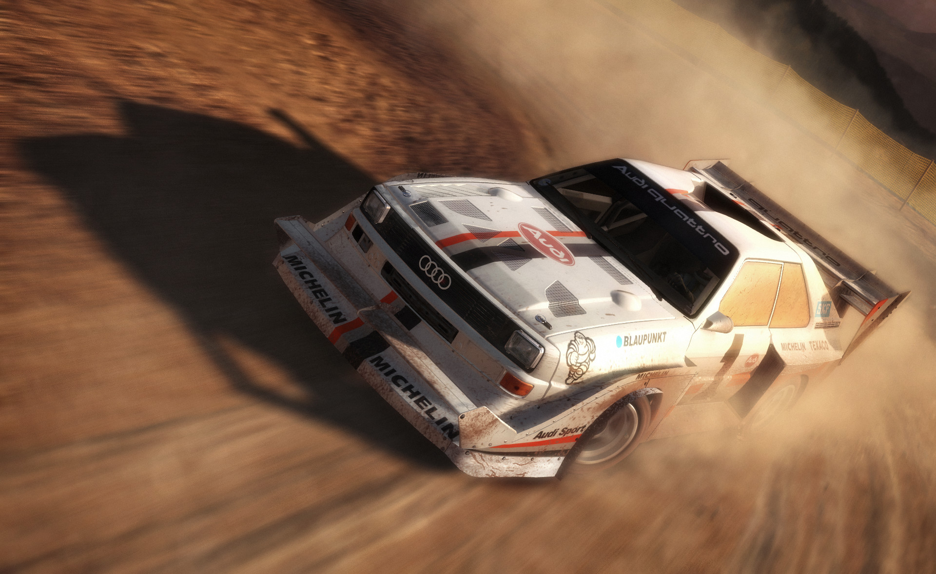 DiRT Rally Audi Quattro