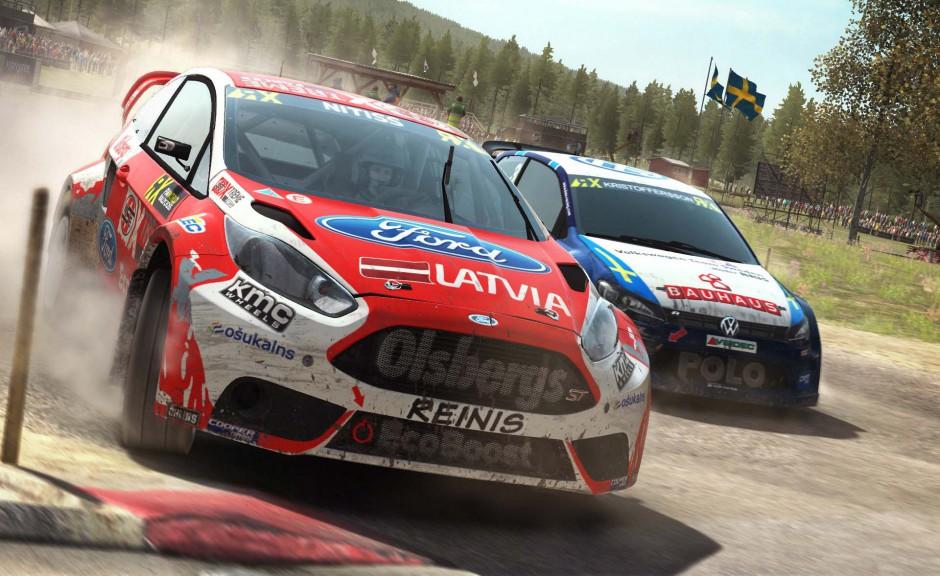 DiRT Rally rallycross