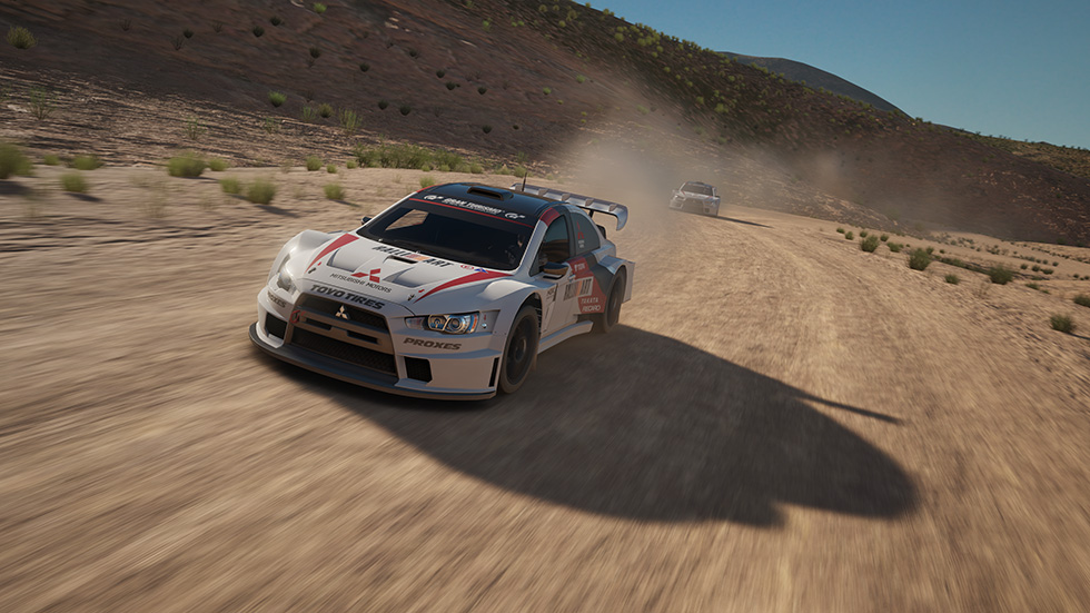 Gran Turismo Sport Mitsubishi Lancer Evolution X Rally racing