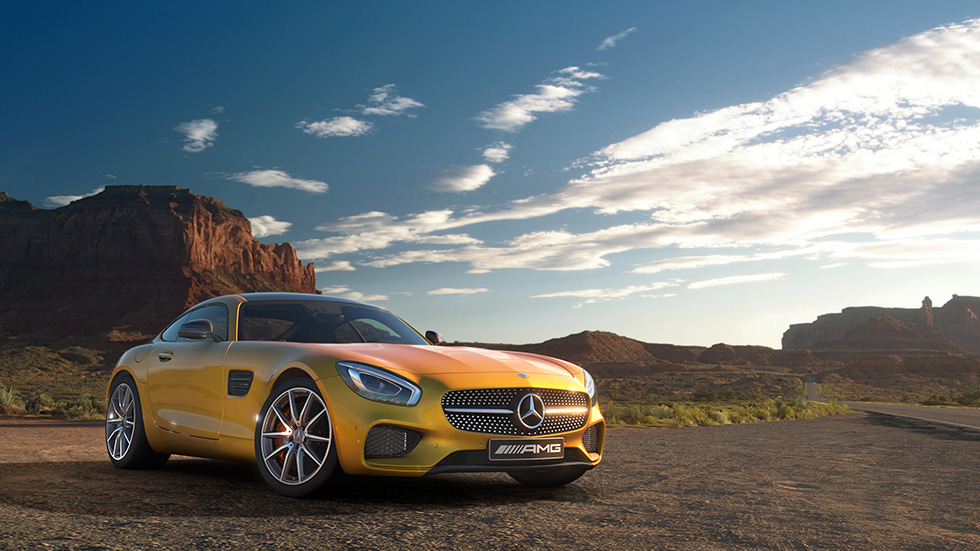 Gran Turismo Sport Mercedes AMG screenshot