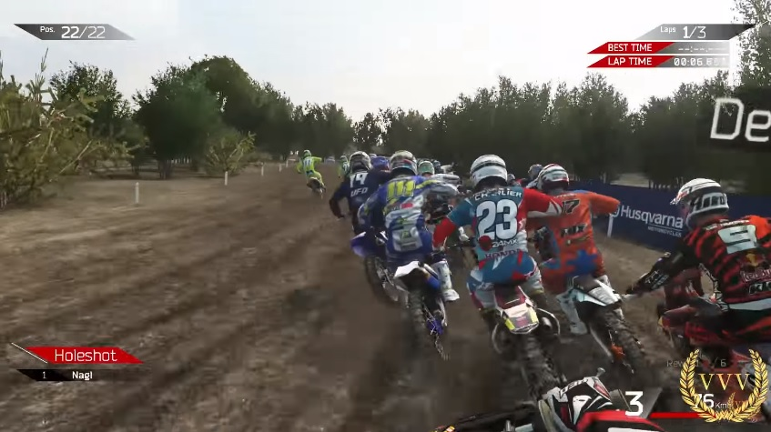 We check out MXGP 2's first person mode