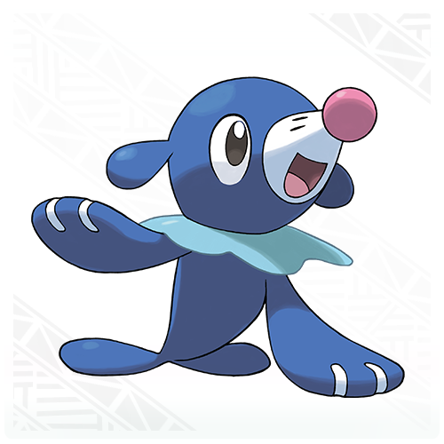 Popplio is a water type seal who can move on land via its ability to create bubbles