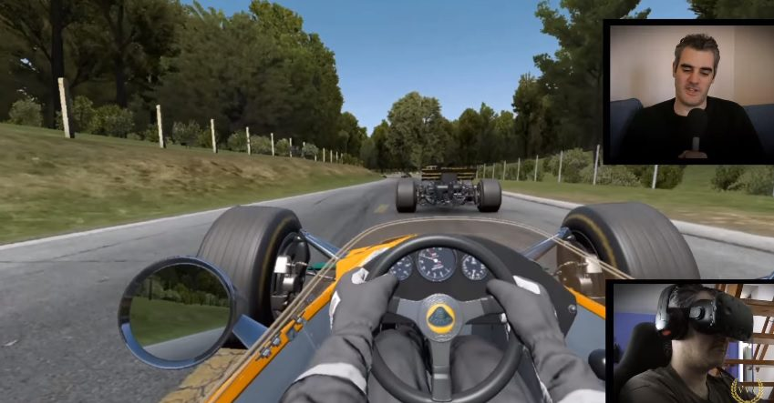 Project Cars Vr >> Our Initial Impressions Of Project Cars With The Htc Vive Vr