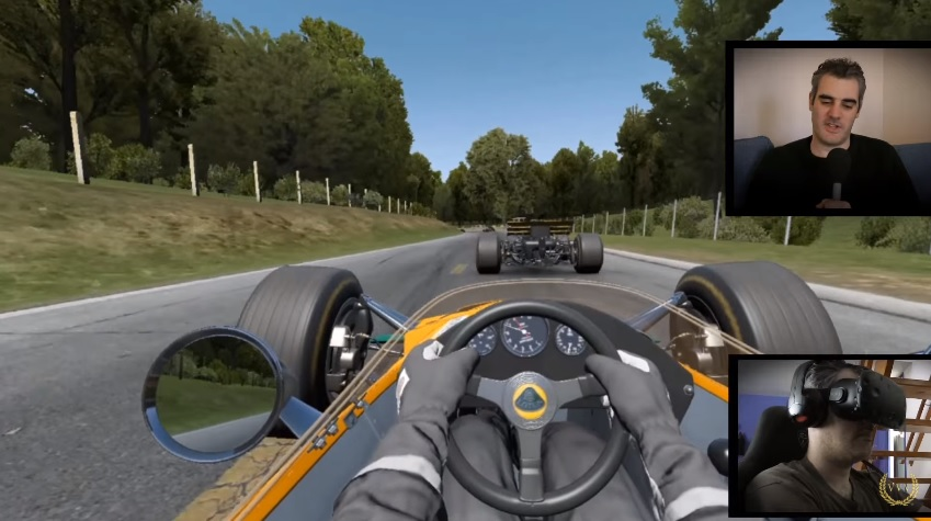 Our initial impressions of Project CARS with the HTC Vive VR headset