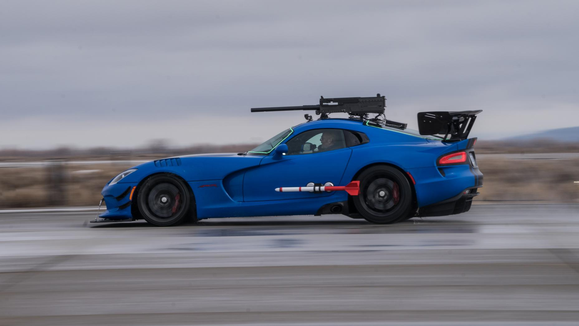 Top Gear AC Viper dogfight