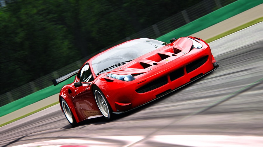 Assetto Corsa screenshot Ferrari 458 GT2