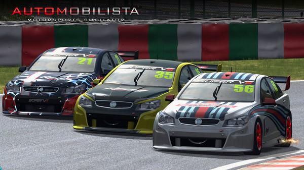 Automobilista Motorsport Simulator PC racing sim Australian V8 race