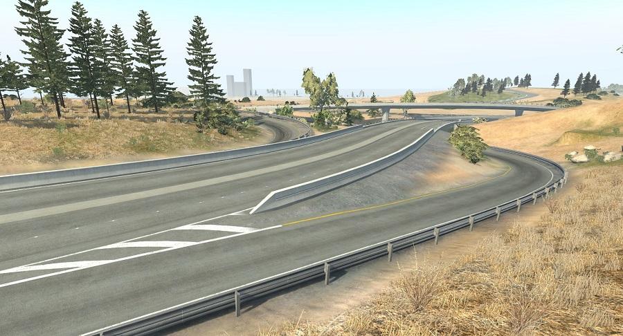Beam.NG West Coast USA work in progress preview screenshot