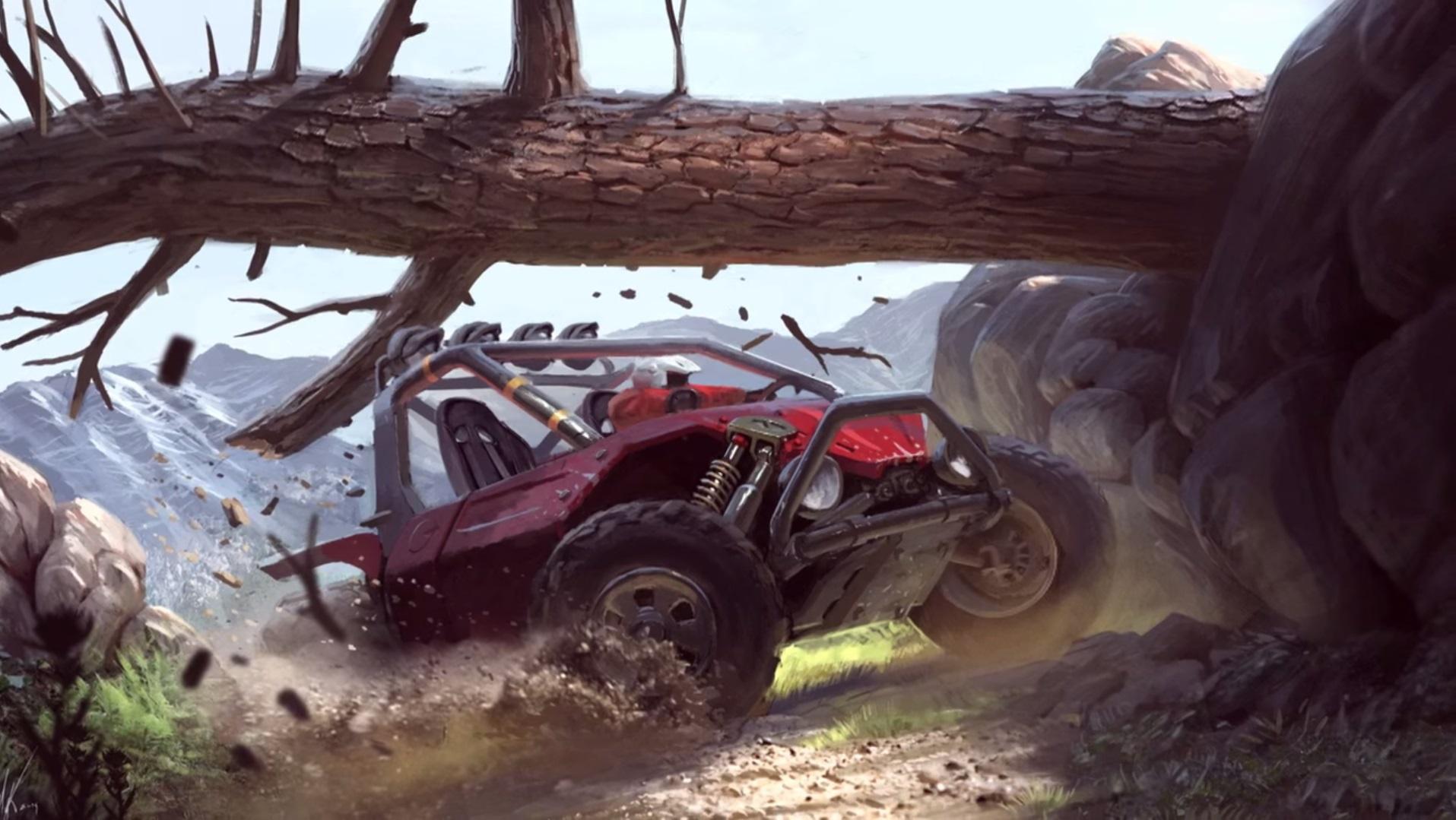 Beyond Cars Criterion Games artwork