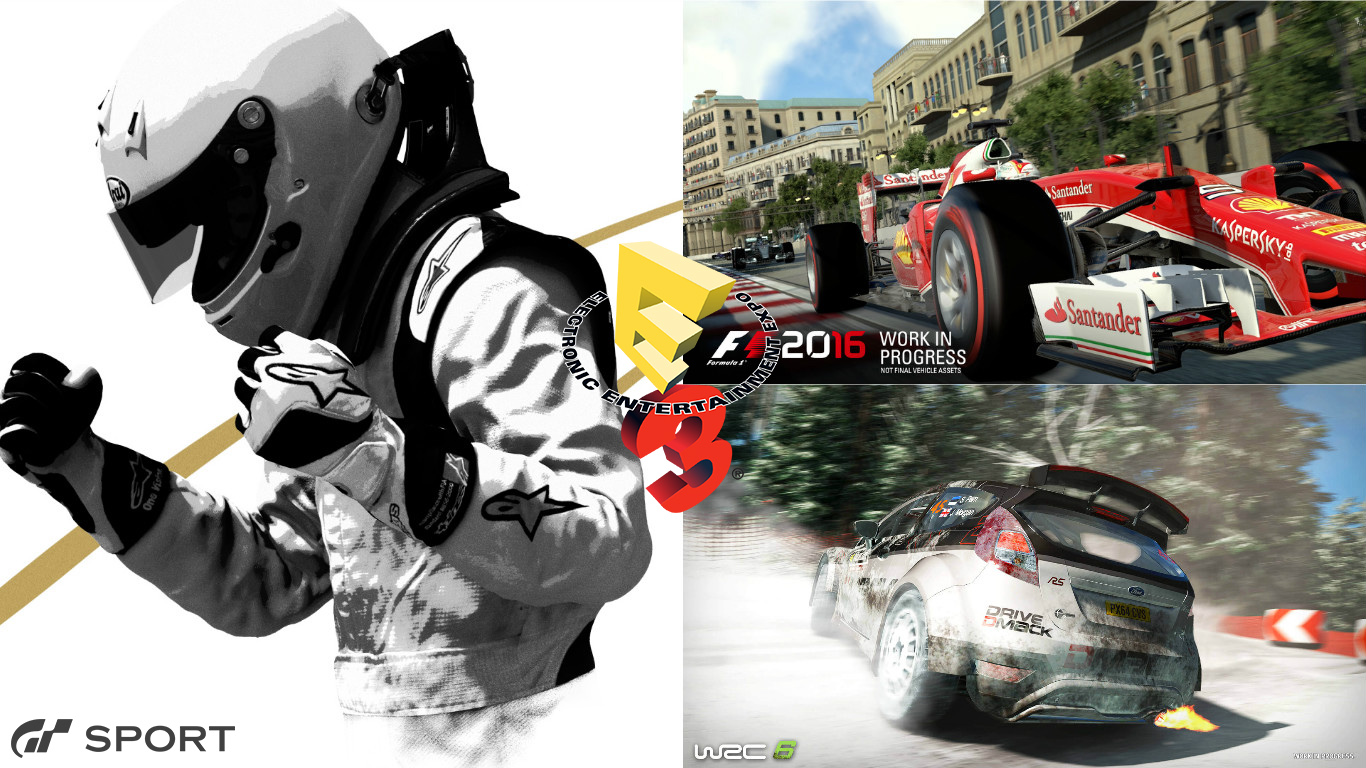 E3 2016 racing game preview: Gran Turismo Sport, F1 2016, WRC 6