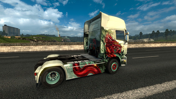 Euro Truck Simulator 2 Paint Jobs DLC pack China country
