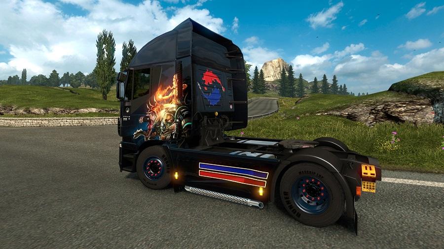 Euro Truck Simulator 2 Paint Jobs DLC pack South Korea country