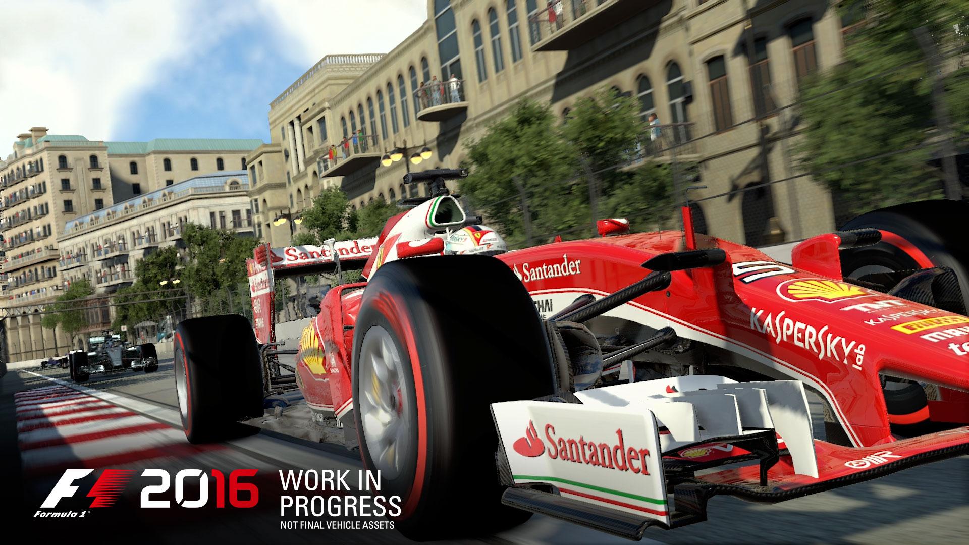 F1 2016 Ferrari