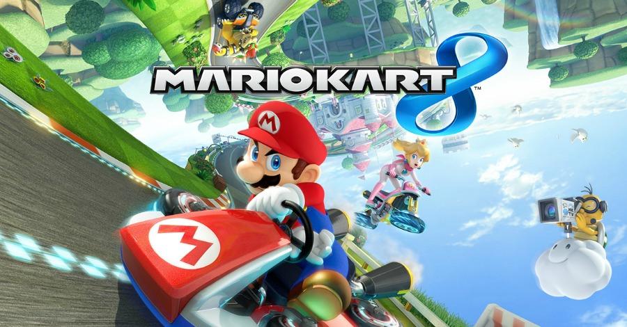 Mario Kart 8 artwork Wii U