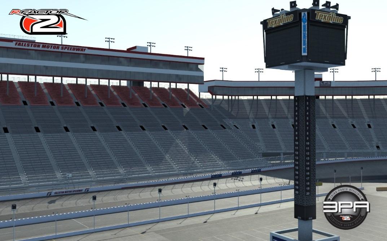 rFactor 2 Fallston Motor Speedway Bristol Motor Speedway teaser screenshot NASCAR short oval