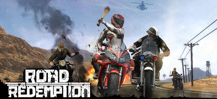 Road Redemption artwork Road Rash spiritual successor