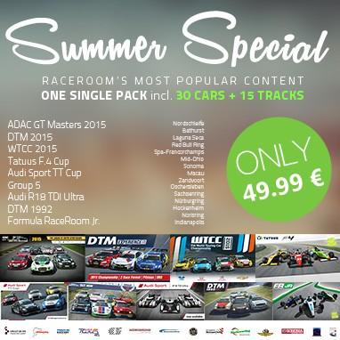 RaceRoom Racing Experience Summer Sale