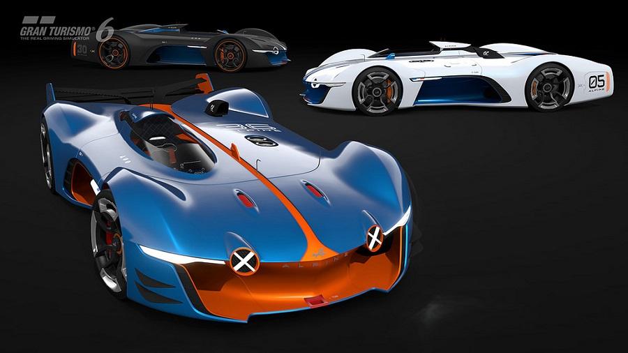 Gran Turismo Vision GT car renders