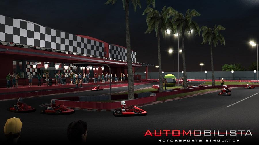 Automobilista Motorsports Simulator AMS kart track