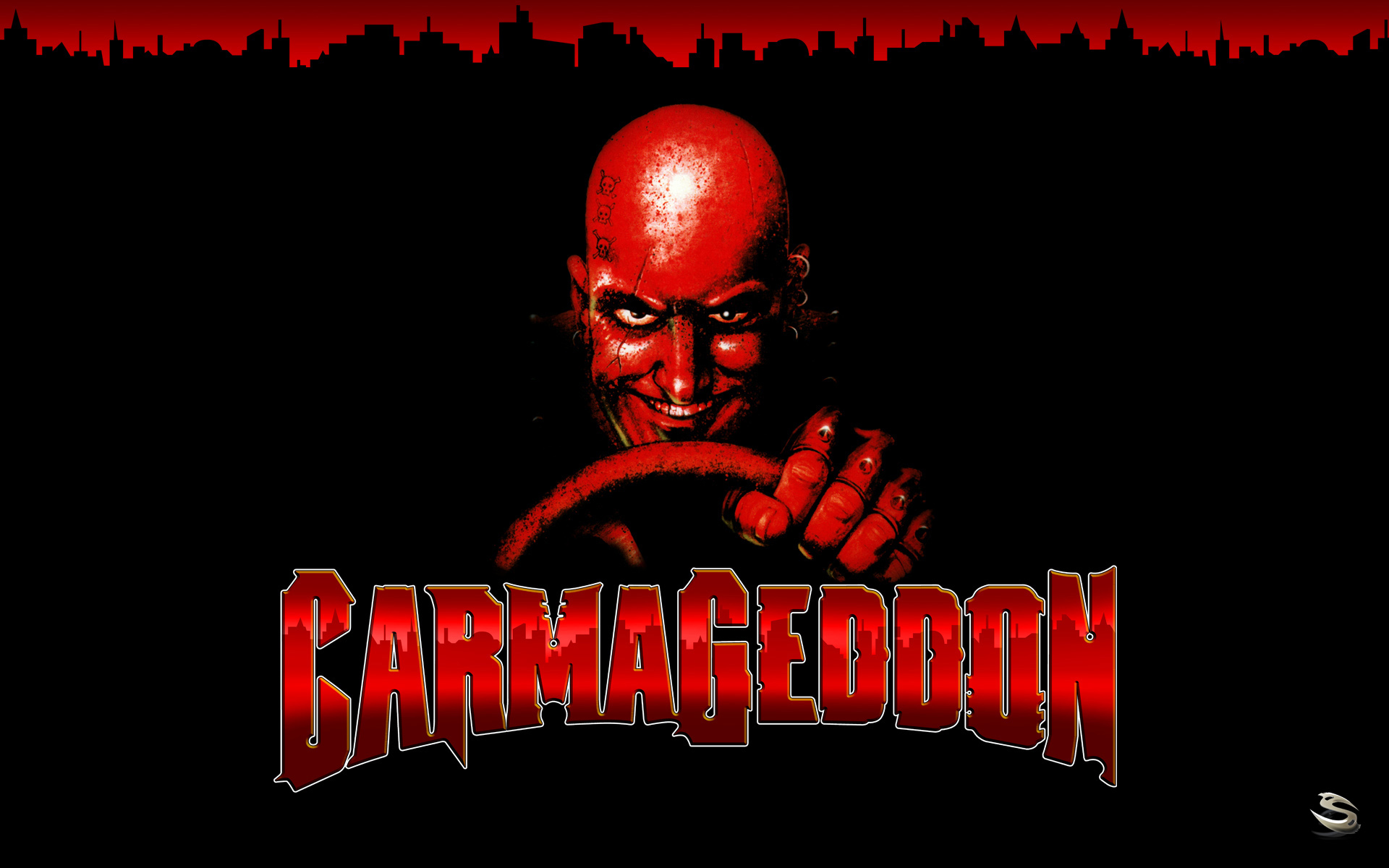 Carmageddon 1997 PC artwork