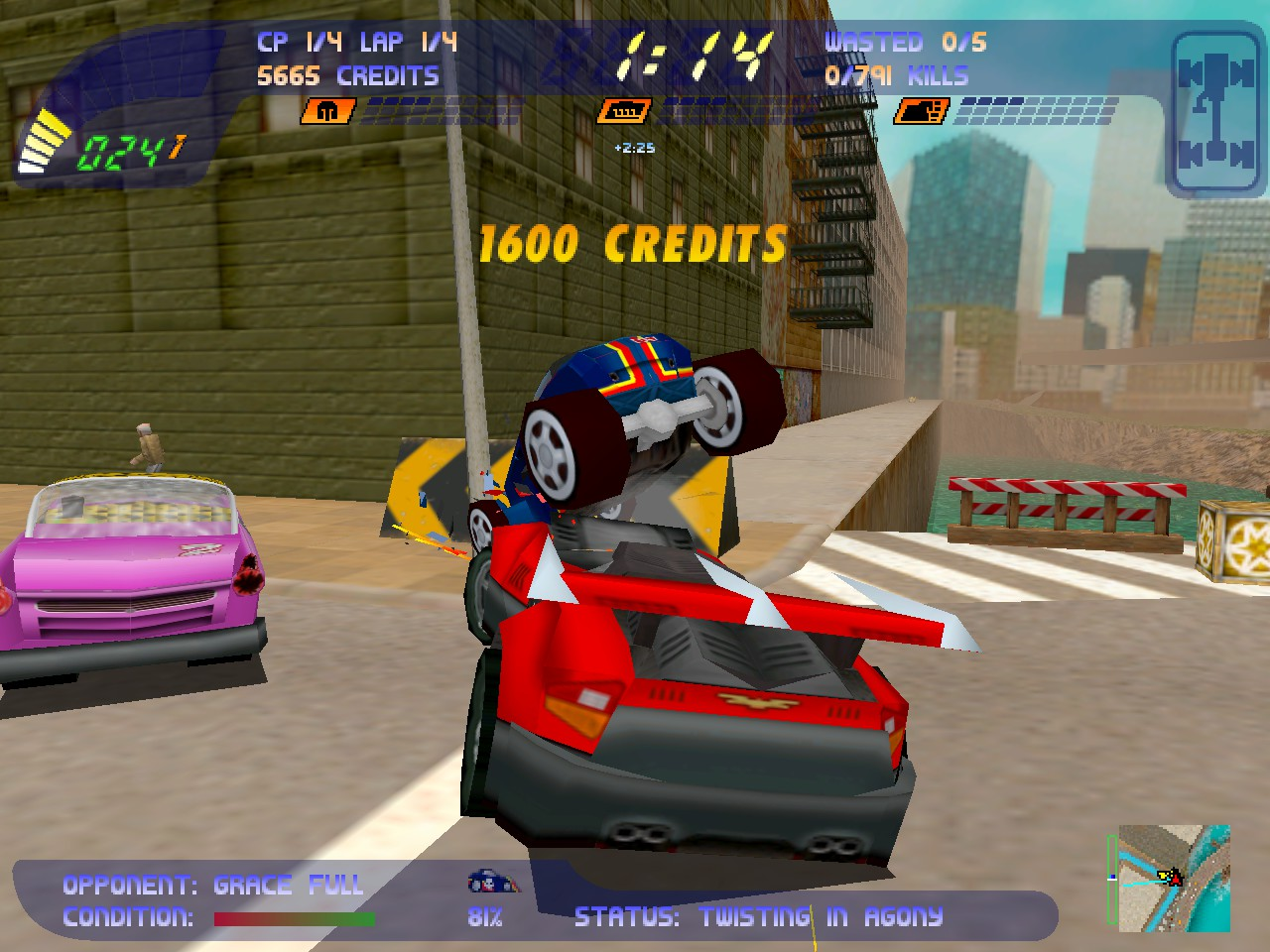 Carmageddon 2 PC screenshot 1998