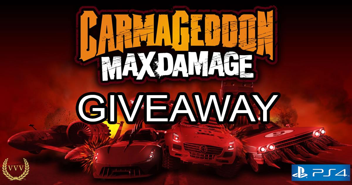 Carmageddon PS4 code giveaway