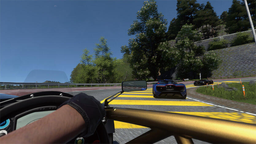 Driveclub VR screenshot image PSVR PlayStation VR