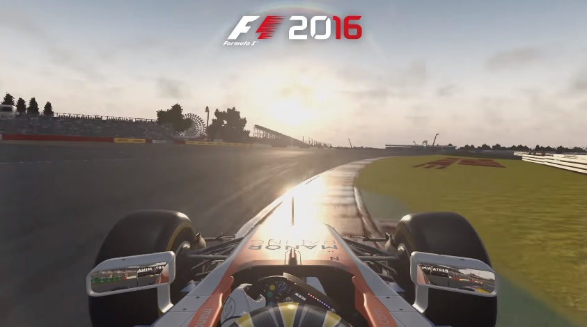 latest f1 2016 gameplay video showcases silverstone team vvv. Black Bedroom Furniture Sets. Home Design Ideas