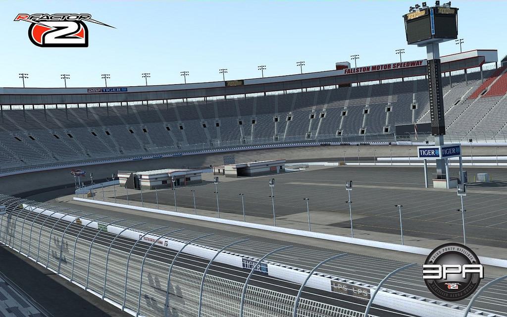 rFactor 2 Fallston Bristol Motor Speedway screenshots work in progress preview oval short track NASCAR