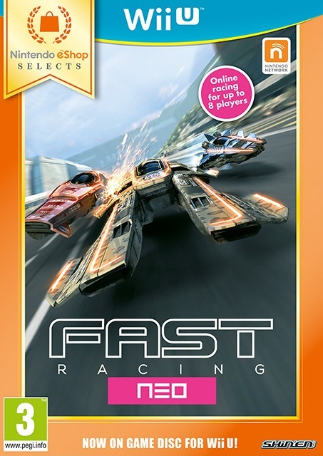 FAST Racing NEO retail pyhsical copy release eshop Wii U Selects