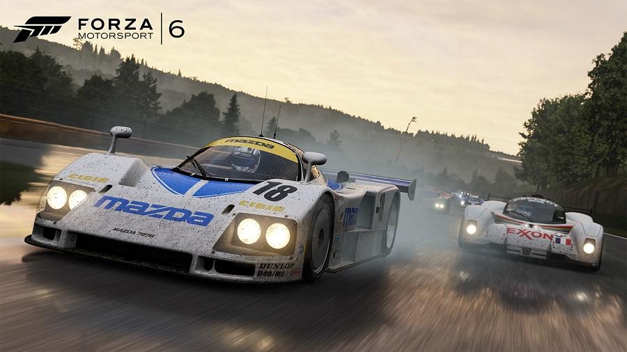 Forza Motorsport 6 Mazda 787B Le Mans race car