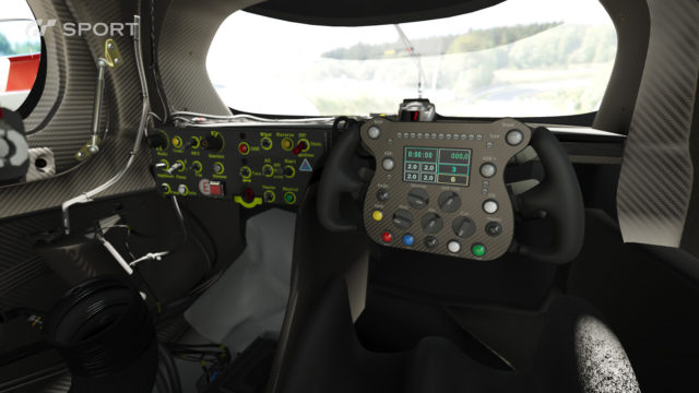 GT Gran Turismo Sport Photomode Car Interior Audi R18 render screenshot