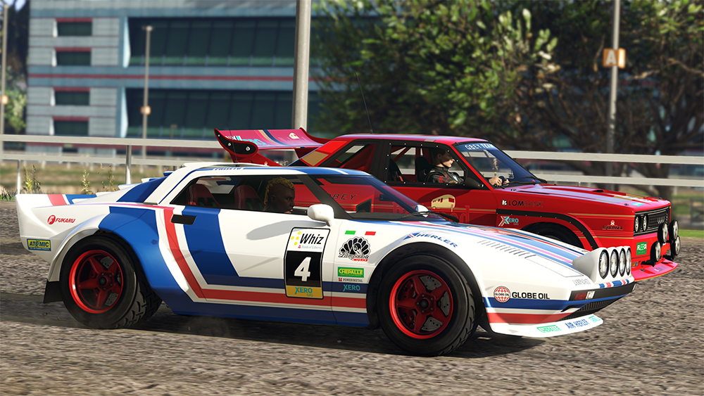 GTA V Cunning Stunts Audi Quattro Lancia Stratos