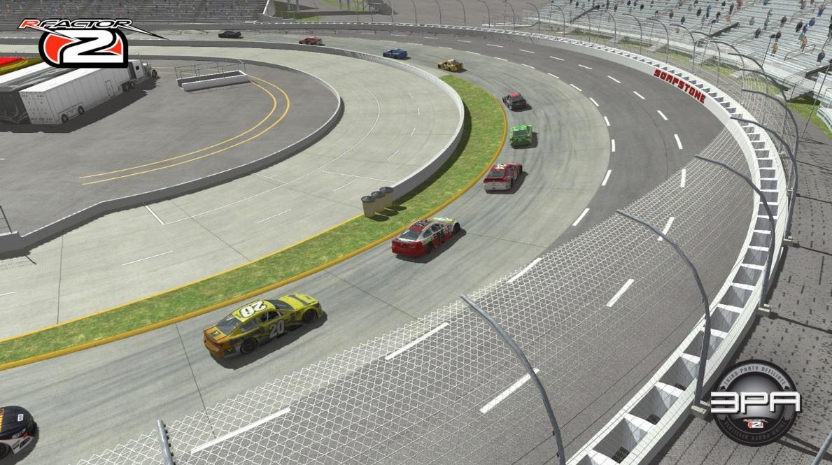 Martinsville Speedway work in progress preview screenshot rFactor 2