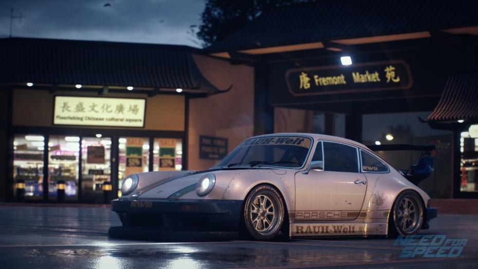 Need for Speed Porsche modified Ventura Bay