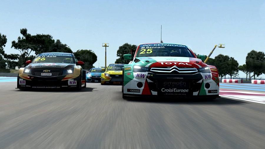 RaceRoom Racing Experience R3E PC racing sim Chevrolet Renault Lexus Touring Cars