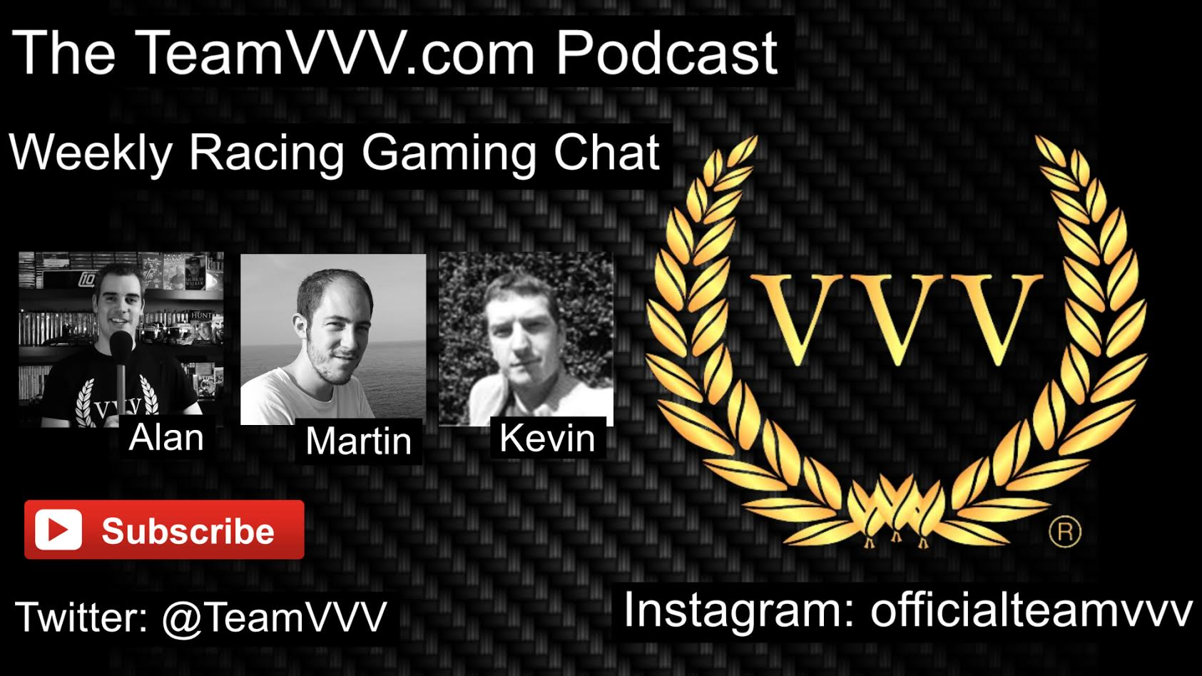 The TeamVVV Podcast Episode 4 - Chatting Carmageddon