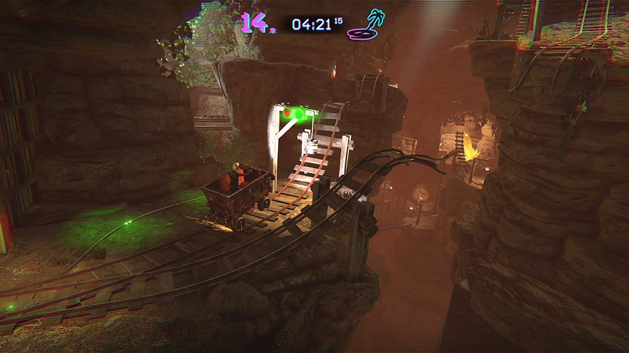 trials of the blood dragon mine cart level