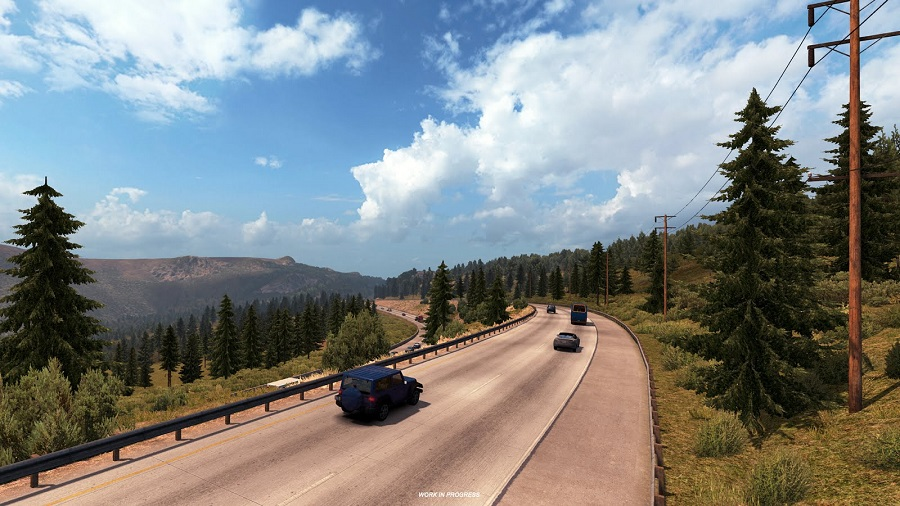 American Truck Simulaor rescale project screenshots preview larger map