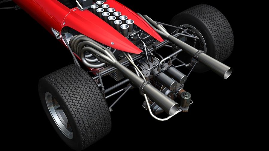 Automobilista Motorsports Simulator 1967 V8 Grand Prix race car render