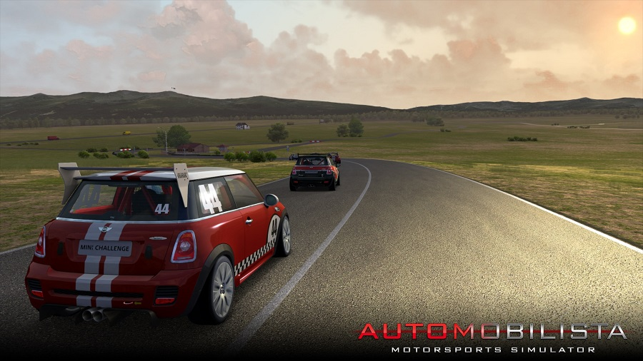Automobilista Motorsports Simulator 7km version Mendig preview village road