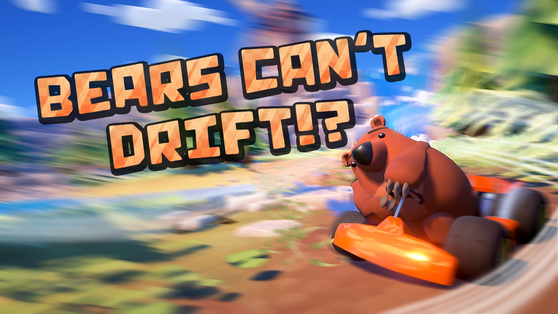 Bears Can't Drift!? main artwork