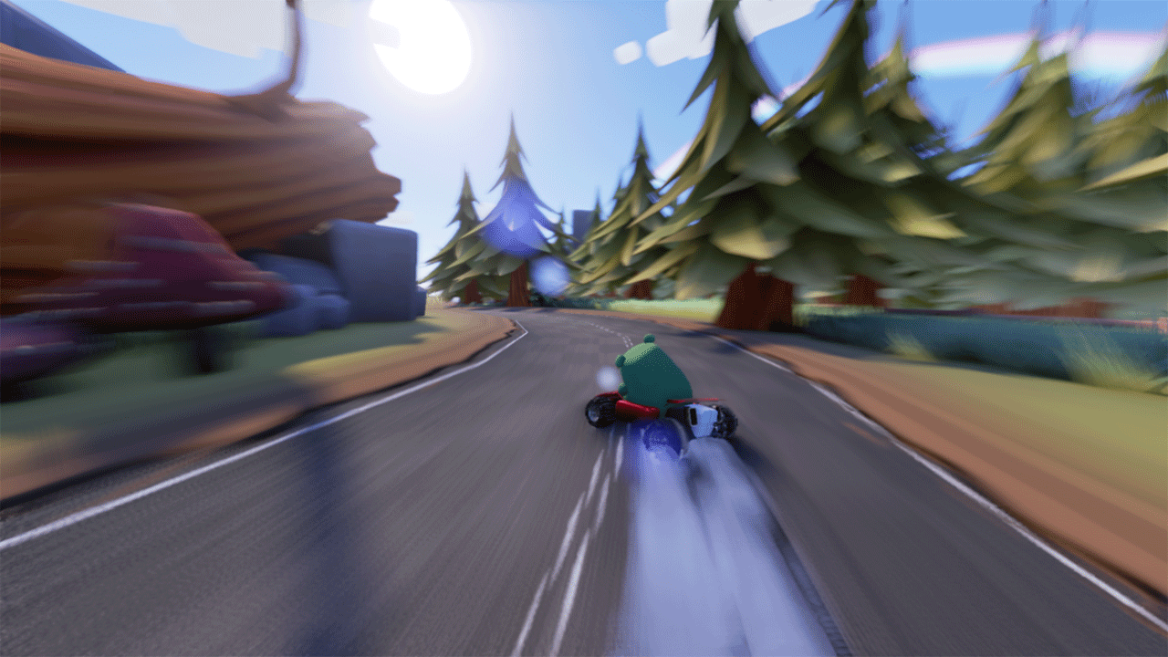 Bears Can't Drift!? drifting screenshot