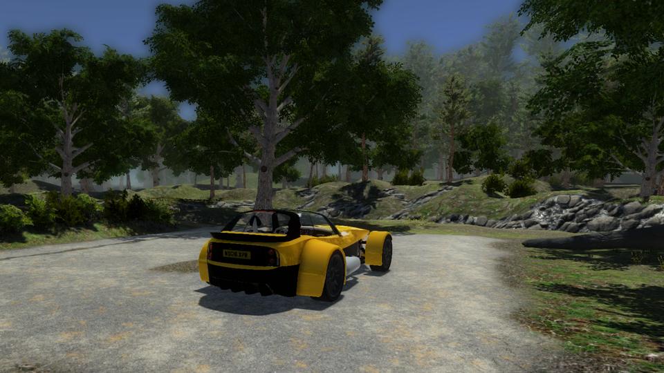 DRIVE forest car park